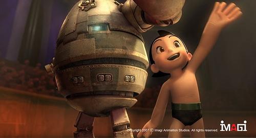 好莱坞打造3D《铁臂阿童木》