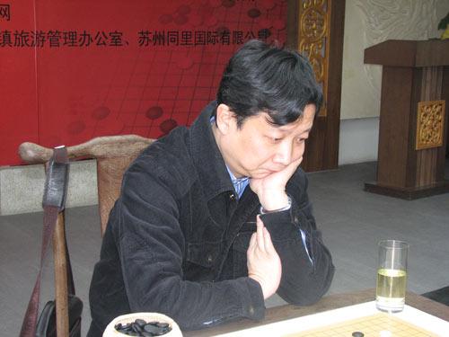 曹大元九段比赛中