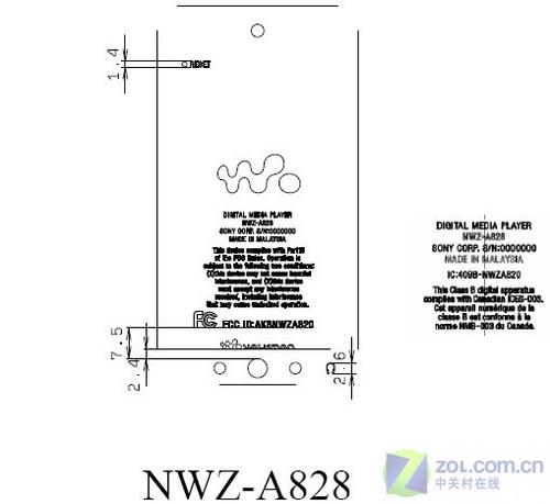 索尼Walkman A820新机曝光