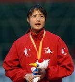 图文:王北星获速滑1000米冠军 一脸笑容