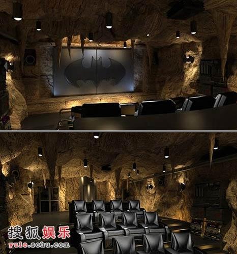 《蝙蝠侠》迷的私人影院