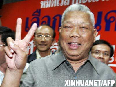 沙马成功当选泰国第25位总理。