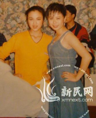汤唯(左)与邵小珊(右)。