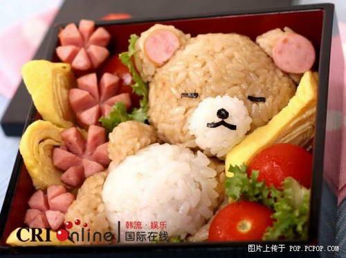 讓人不忍心吃掉的可愛便當(組圖)-搜狐動漫