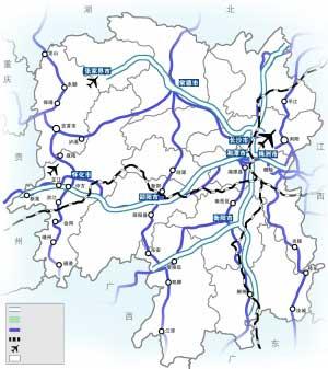 湖南5条高速开通7条国道中断西行列车基本畅通图片