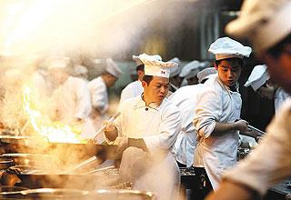 追求菜品创新是顶端餐饮企业致胜的不二法宝(蔡小川 摄)