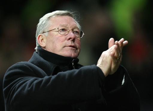 图文:[英超]曼联2-0朴茨茅斯 弗爵爷献掌声