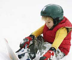 让雪灾伤害远离孩子