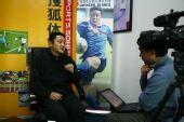 图文:[访谈]成足副总马明宇做客 谈成足发展