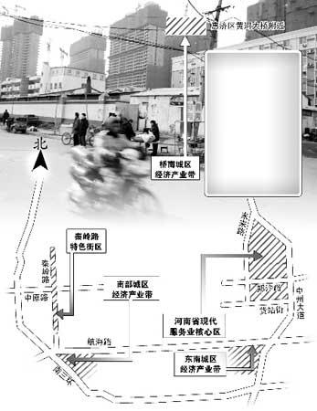 2008年城中村改造目标示意图