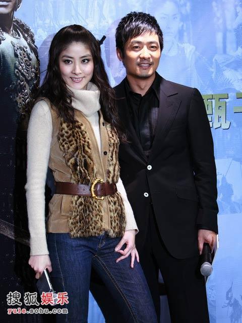 陈慧琳与郭晓冬