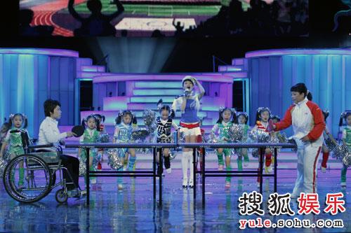 图:北京电视台春晚录制现场精彩图片-33