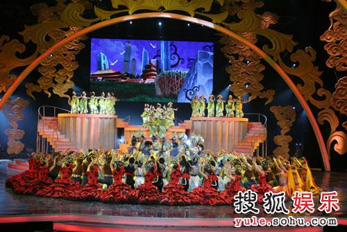 图:北京电视台春晚录制现场精彩图片-42