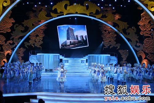 图:北京电视台春晚录制现场精彩图片-43