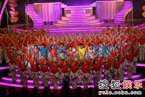 图:北京电视台春晚录制现场精彩图片-62