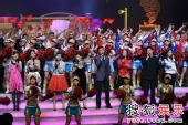 图:北京电视台春晚录制现场精彩图片-68