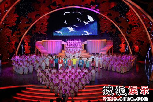 图:北京电视台春晚录制现场精彩图片-71