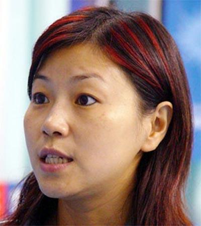 图文:北大奥运冠军 跳水皇后周继红