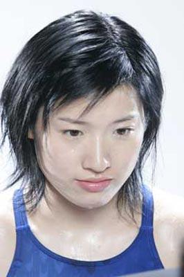图文:北大奥运冠军 蛙泳皇后罗雪娟