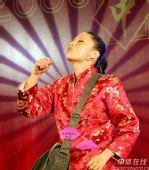 图文:国羽春节联欢晚会搞笑不断 经典姿势搞笑