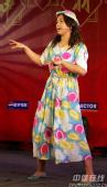 图文:国羽春节联欢晚会搞笑不断 精彩个人独唱