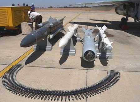 俄制米格-29K舰载机可携带多种武器