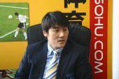 图文:[访谈]实德总经理李明做客 满意新季引援