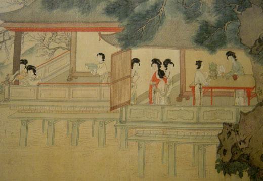 中国古代人物画精品展组图