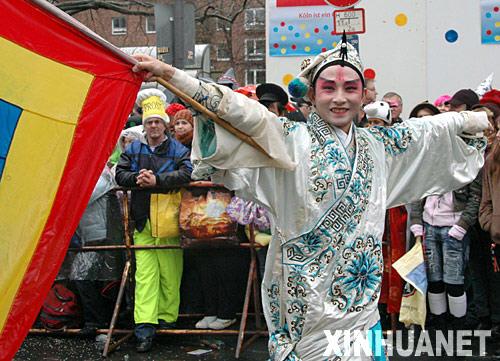中国京剧演员