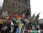 中国京剧演员在德国科隆狂欢节