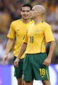 图文:[世预赛]澳洲-卡塔尔 卡希尔与布雷西亚诺