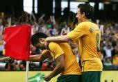 图文:[世预赛]澳洲3-0卡塔尔 卡希尔进球狂喜