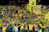 图文:[世预赛]澳洲3-0卡塔尔 激情的澳洲球迷