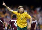 图文:[世预赛]澳洲3-0卡塔尔 肯尼迪剑指苍天