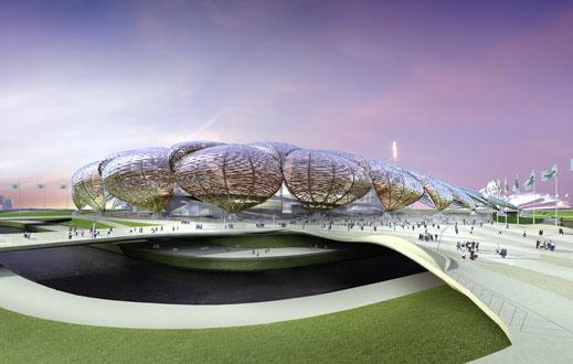 2012年伦敦奥运会主体育场效果图