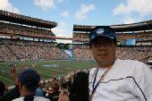 图文:NFL全明星赛精彩纷呈 搜狐体育现场观战