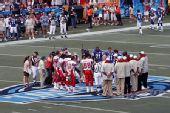 图文:NFL全明星赛精彩纷呈 精彩比赛一触即发