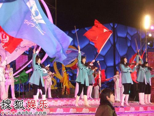 奥运志愿者的2008春晚