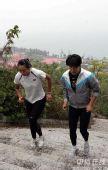 图文:中国沙排三亚备战奥运 训练一丝不苟