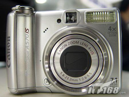 八大类型热点数码相机最新报价 七 佳能A570 IS