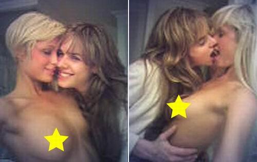 希尔顿和卡斯伯特同性恋裸照曝光