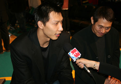 Yao Ming And Jet Li | www.imgkid.com - The Image Kid Has It!