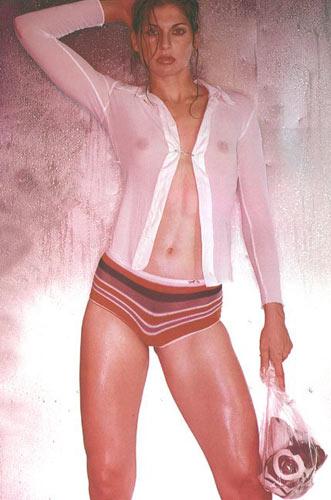 图文:沙排高挑美女瑞丝全裸出镜