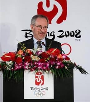 斯皮尔伯格曾任北京奥运会艺术顾问