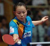 图文:2008年世乒赛团体赛中国香港队 帖雅娜