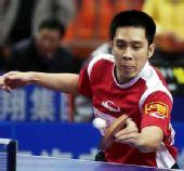 图文:2008年世乒赛团体赛中国香港队 高礼泽