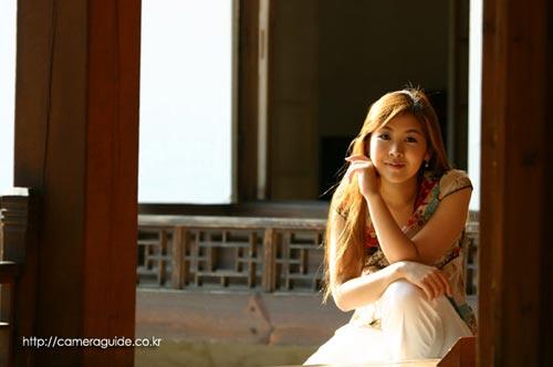 围棋:韩国美女美女校花与啪啪啪长发韩海苑披肩眉目图文有情图片