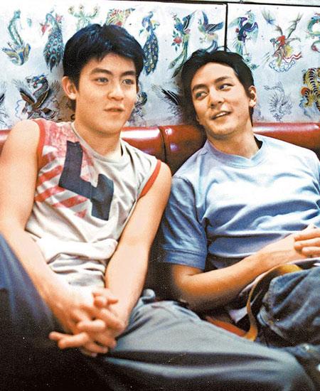 早年吴彦祖与陈冠希在《想飞》一片中饰演兄弟,不过此情已不复再。