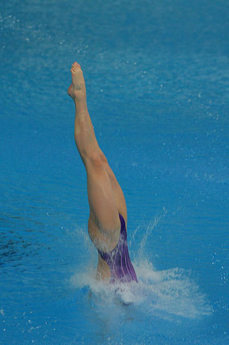 陈若琳完美入水