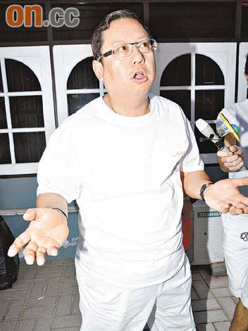 记者问陈冠希在哪里,林建岳竟然回答:在地球咯